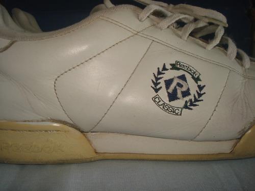 4646134b8cf2c Tenis Reebok Classic De Couro Anos 90 Original 41 Vintage