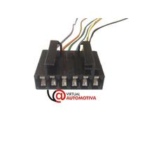 Soquete Plug Conector Lanterna Traseira Palio/tempra