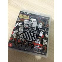 Jogo Playstation 3 - Sleeping Dogs - Original - Semi-novo