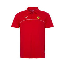 Camisa Polo Puma Ferrari Sf Rosso Corsa P - Original