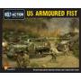 Tanque Modelo - Warlord Games Us Blindada Primeiro Exército