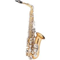 Saxofone Alto Michael Dual Gold Wasm49 Eb Duplo Dourado E