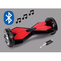 Skate Elétrico Hoverboard Balance Scooter Com Led Bluetooth