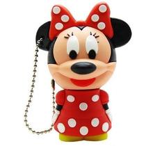 Pen Drive Personalizado 4gb Minnie Vermelha