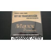 Kit Relaçao Completa Yamaha Xt 660 Coroa Pinhao Aço1045 Maxx