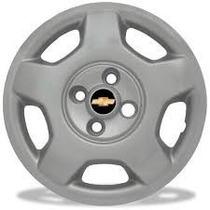 Ogo Calota Aro 14 Corsa Hatch 04 4 Peças Emblema Resinado
