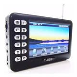 Tv Digital Portatil 4.3 Micro Sd Video Pendrive Radio Fm E91