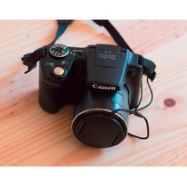 Camêra Fotográfica Semi Profissional Canon Sx510hs