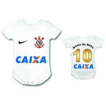 Bori Body Personalizados Corinthians Time Futebol Infantil
