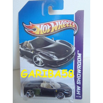 Hot Wheels Ferrari 458 Spider 2013 Showroom Series Gariba58