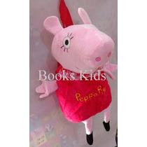Mochila De Costas Peppa Pig Em 3d