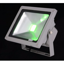 Refletor Led 20w Luz Verde ( + Luz )