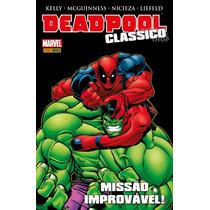 Hq Deadpool Clássico Volume 02 Panini Comics Hulk Marvel