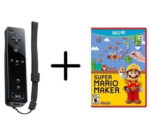 Remote Plus + Mario Maker - Wii U