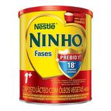 Fórmula Infantil Em Pó Nestlé Ninho Fases 1+ Em Lata De 400g