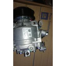 Compressor Ar Condicionado Onix / Prisma Novo Original Gm