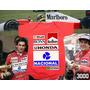 Macacão Ayrton Senna F1 Body Infantil Formula F1 Corrida