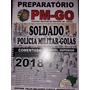 Apostila Pm - Go 2018 - Soldado  + Dvd Com Videoaulas