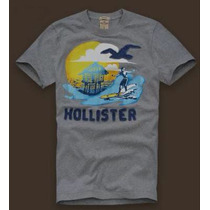 Kit Com 5 Camisetas Hollister Atacado