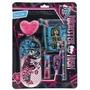 Kit Escolar Monster High Black Set 6 Peças 663517 - Tris