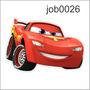 Adesivo Decorativo Carros Disney Relâmpago Mcqueen Job0026