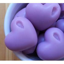 50 Mini Sabonetinhos De Coração - Sabonetes Lembrancinhas