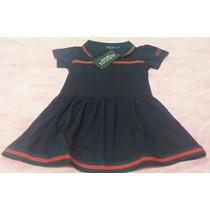 Vestido Polo Criança Modelo Gucci - Menina De 3 A 4 Anos