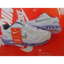 Tenís Nike Air Max 2013 Todo Branco Imperdivel