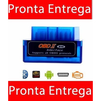 Mini Scanner Obd2 V2.1 Elm 327 Celular Bluetooth Automovel