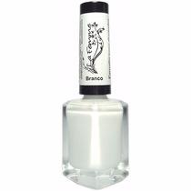 Esmalte Branco Para Carimbo La Femme 9ml