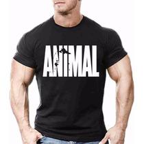 Camisa Camiseta Animal Musculação Academia Fitness