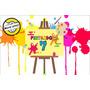 Painel Em Lona Casa Do Mickey(02) 2x1,5 Banner -  Suat