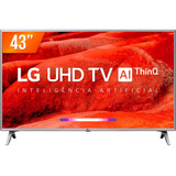 Smart Tv Led Ips 43  4k LG 43um Thinq Ai 4 Hdmi 2 Usb Wifi