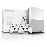 Video Game Xbox One S 1tb S Kinect Com Controle Microsoft