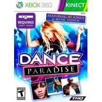 Jogo Xbox 360 Dance Paradise Original E Lacrado