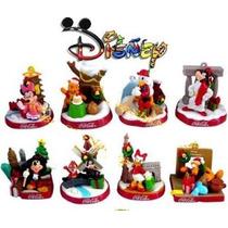 Disney Club Do Mickey Set 8 Figuras Mickey Coca-cola Natal