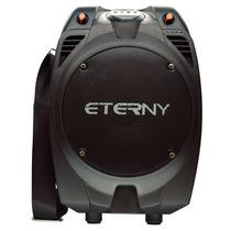 Caixa Acústica Amplificada Eterny Et43006ab Com Entrada Usb,