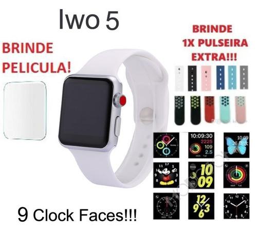 4a96f9d2b77 Iwo 5 Relógio Inteligente Ios Android +brindes Preço À Vista. R  446