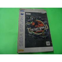 The Lost World Jarassic Park Original Sega Saturn Saturno
