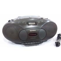 Mini System Am/fm/cd E Fita Cassete Gradiente Modelo Smz-96