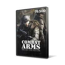 Combat Arms - Cartão De 79.500 Cash - Level Up - Imediato