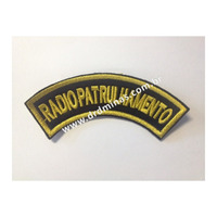 Distintivo Bordado Radiopatrulhamento - U