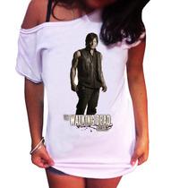 Camiseta Feminina The Walking Dead Daryl