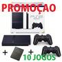Playstation 2 Slim Play 2  controles   Memory  10 Jogos