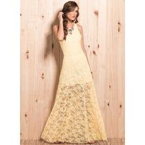 Vestido Longo De Renda,festa,casamento,madrinha,formatura