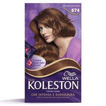 Tinta Creme Koleston Chocolate Acobreado 674