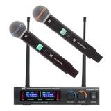 Kit De Microfones Tsi Ud 2200-uhf Dinâmico Supercardióide