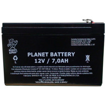 Bateria Planet Selada 12v 7a - Nobreak