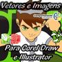 Vetores E Imagens Ben 10 Para Corel Draw E Illustrator