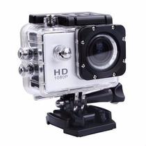 Camera Filmadora Prova D Água Sportcam Multilaser Hd Sport